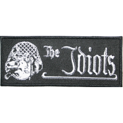 "The Idiots Patch ""Logo mit Schwein"""