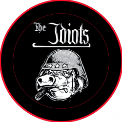 The Idiots - logo Button groß 3,5cm