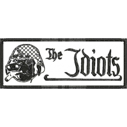 "The Idiots Patch (Invertiert) ""Logo mit Schwein"""