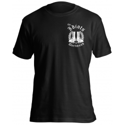 "The Idiots T-Shirt ""Logo mit Stiefel Dortmund"""