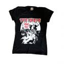 "The Idiots Girlie / T-Shirt ""Idiot bis zum Tod"""