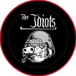 """The Idiots Button """"Logo mit Schwein"""" klein"""